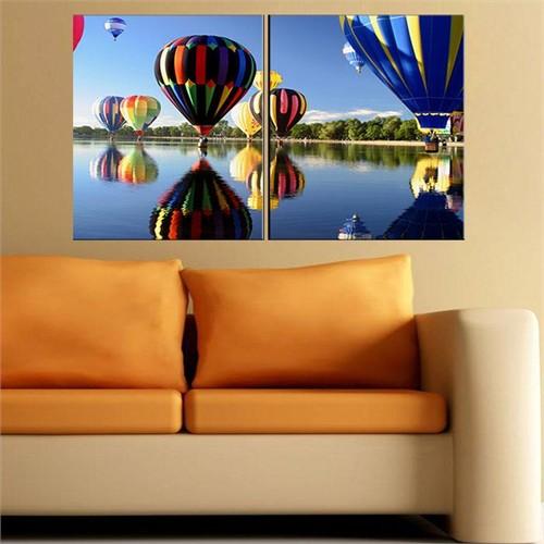 Canvastablom İ614 Balonlar Parçalı Canvas Tablo