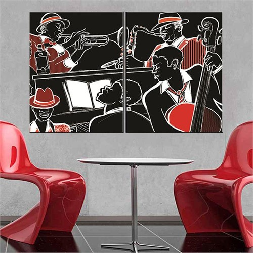 Canvastablom İ305 Modern Art Parçalı Kanvas Tablo