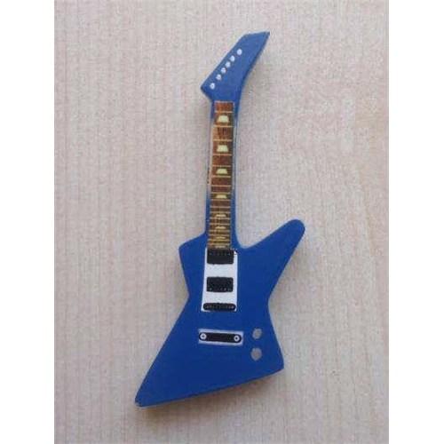 Minyatür Gitar Magnetler Ahşap Mın10-17