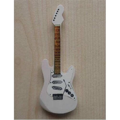 Minyatür Gitar Magnetler Ahşap Mın10-2