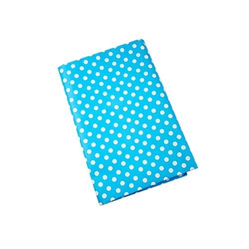 Kullanatmarket Mavi Puantiye Kuşe Kağıt 2 Adet