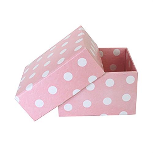 KullanAtMarket Pembe Puantiyeli Küçük Kutu 10 Adet