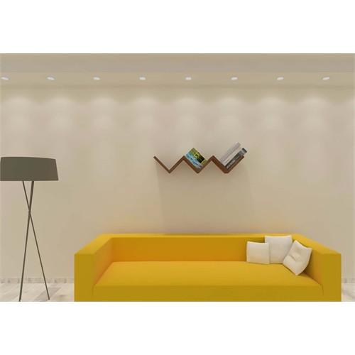 Nav Decoration Seren Kutu Kitaplık Ve Duvar Rafı - Beyaz