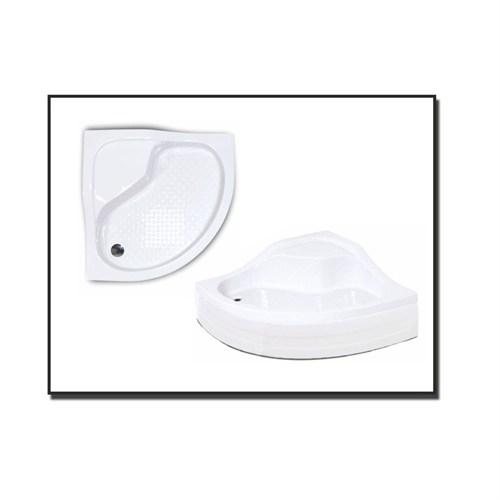 Duşaduş Akr011 Oturmalı Panelli Duş Teknesi 90 Cm X 90 Cm