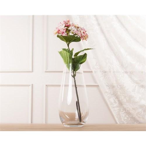 Madame Coco Dekoratif Yapay Çiçek Açık Pembe Ortanca