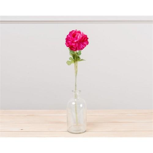Madame Coco Dekoratif Yapay Çiçek Pembe Ortanca 51 Cm