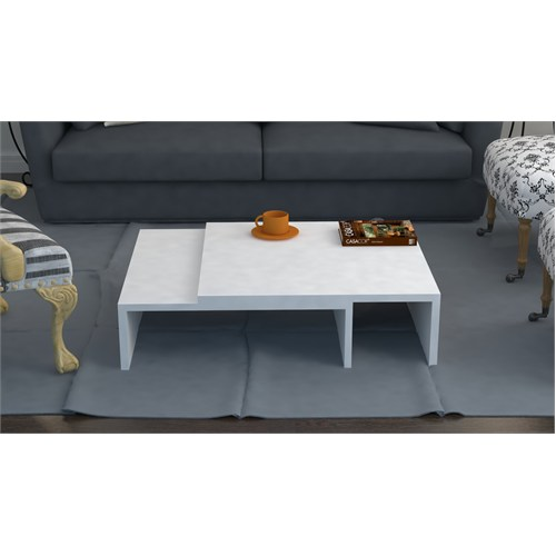 Arch Orta Sehpa - Beyaz - 120X60x33 Cm