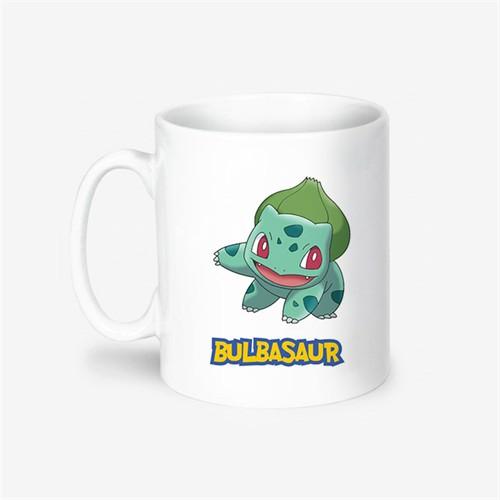 Kişiye Özel Pokemon Bulbasaur Tasarımlı Kupa Bardak