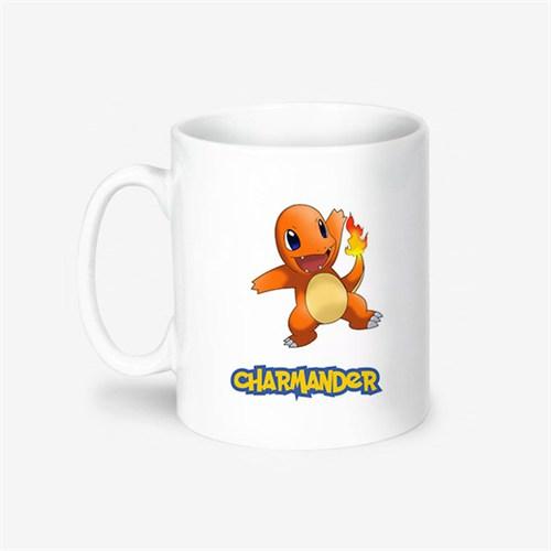 Kişiye Özel Pokemon Charmander Tasarımlı Kupa Bardak