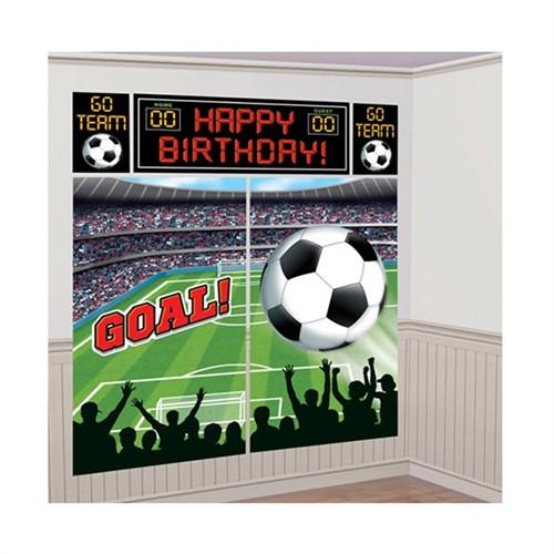 KullanAtMarket Futbol Partisi Duvar Dekoru 1 Adet
