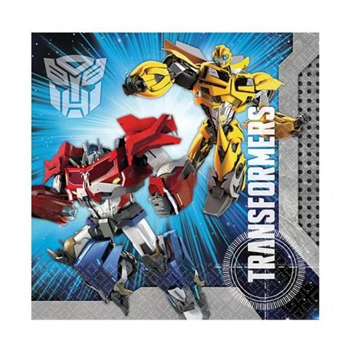 KullanAtMarket Transformers 2 Peçete 20 Adet