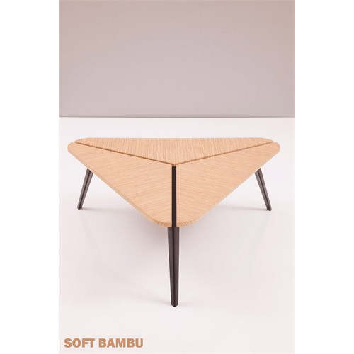 Şule Orta Sehpa Soft Bambu