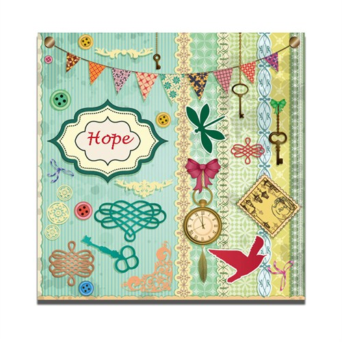 Dolce Home Hope Dekoratif Tablo Dg1b1k20m35