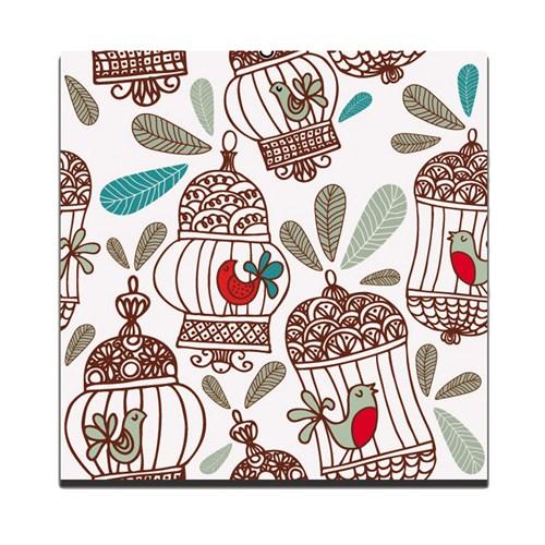 Dolce Home Dekoratif Tablo Kafes Desen Dg1b1k20m3