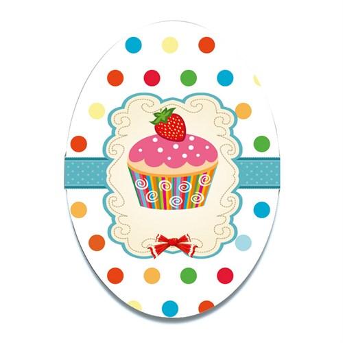 Dolce Home Dekoratif Tablo Cup Cake Ccake01