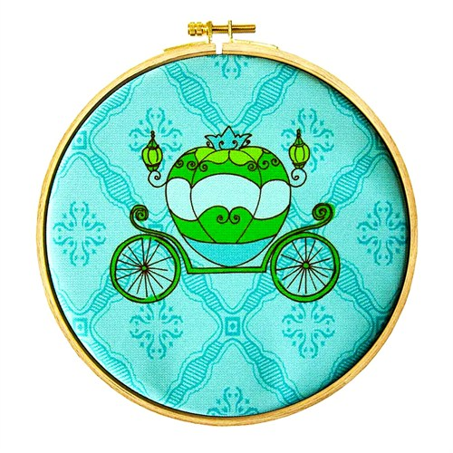 Dolce Home Wall Hoops, Kids Yeşil Araba-2