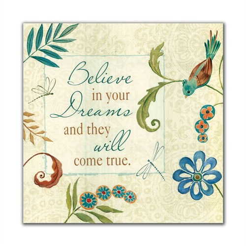 Dolce Home Believe Dekoratif Tablo Adgt27