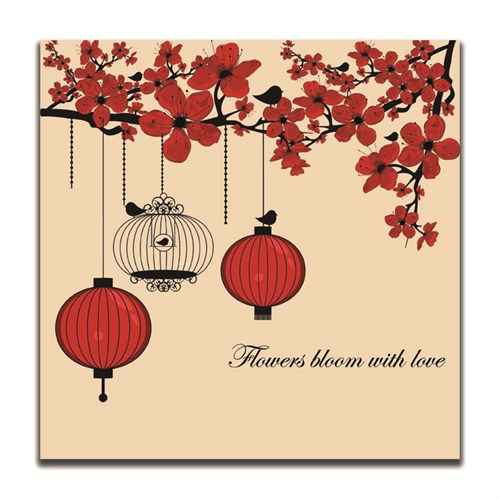 Dolce Home Flowers Bloom With Love Dekoratif Tablo K20m64