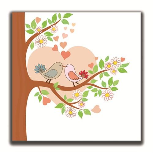 Dolce Home Love Dekoratif Tablo K20m52