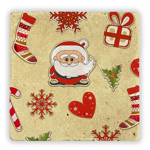 Oscar Stone Noel Baba Hediyeler Doğal Doğal Taş Tablo