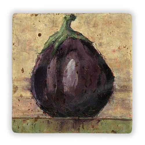 Oscar Stone Eggplant Taş Tablo