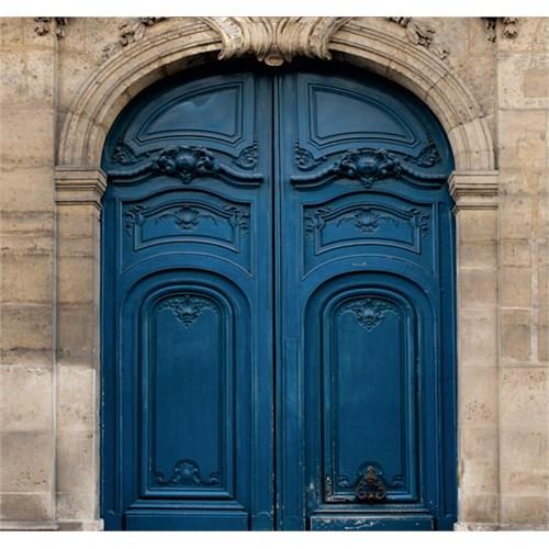 Fotocron Lacivert Kapı Tablo