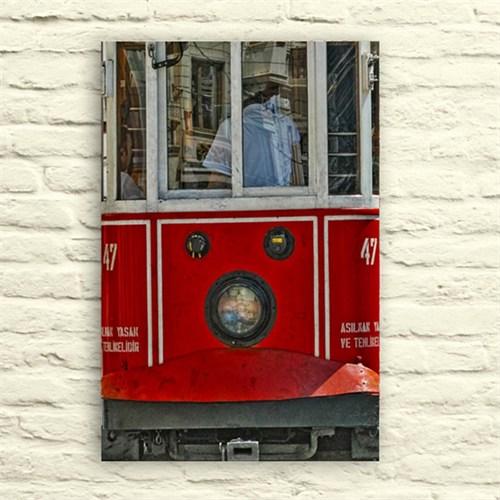 Fotocron Taksim Tren Yakından Tablo 24X34 Cm