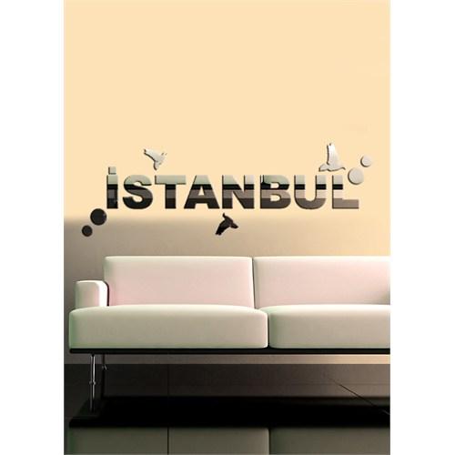 Dekoratif Kırılmaz Ayna İstanbul Kuşlar