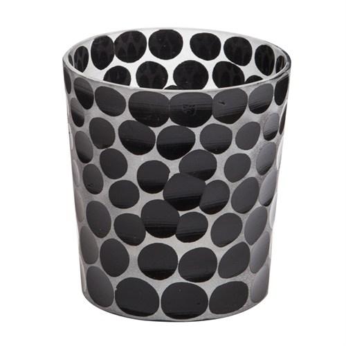 Arte Home Dots Siyah Mumluk