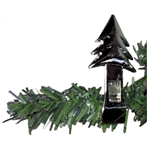 Gri 6 Lı Çam Ağacı Hediye Asma Mandalı