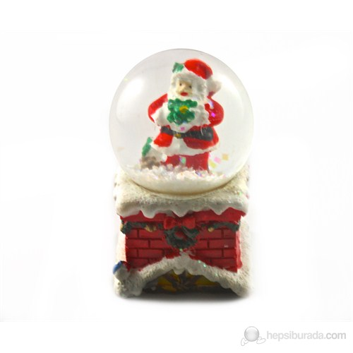 Minyatür Noel Baba Küresi