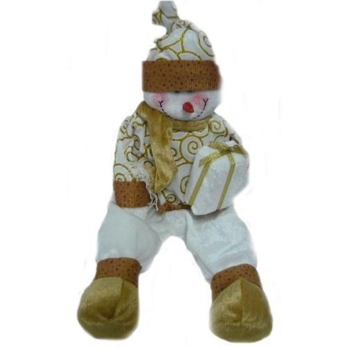 Oturan Kardan Adam Oyuncak Figür