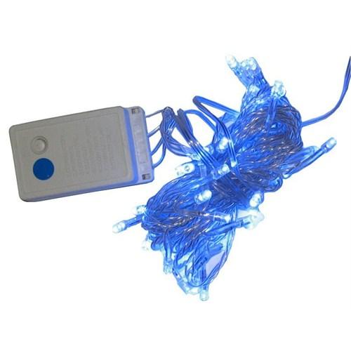 50 Li Led Işık 5 Metre Mavi