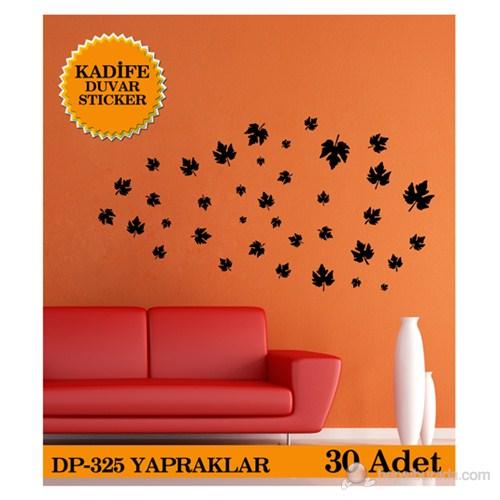 Yapraklar 30 Adet - Kahverengi