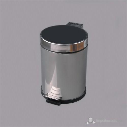 5 Lt. Çelik Çöp Kovası