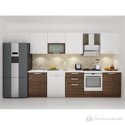 Kenyap 132002 Highgloss PVC Kapaklı Mutfak