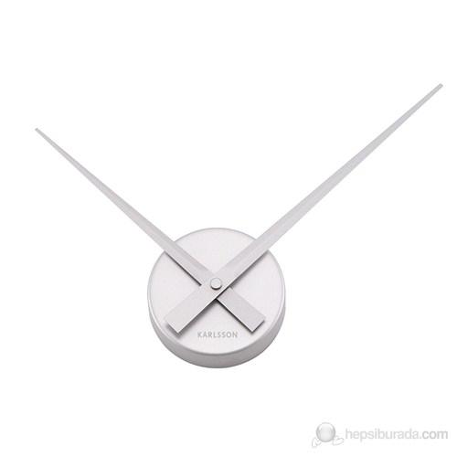 Bun Design Rakamsız Gümüş Saat