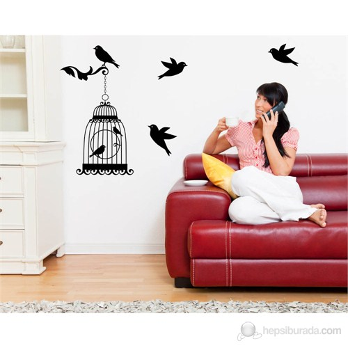 Dekorjinal Duvar Sticker St03