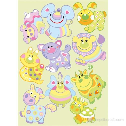 Dekorjinal Çocuk Sticker Kd50