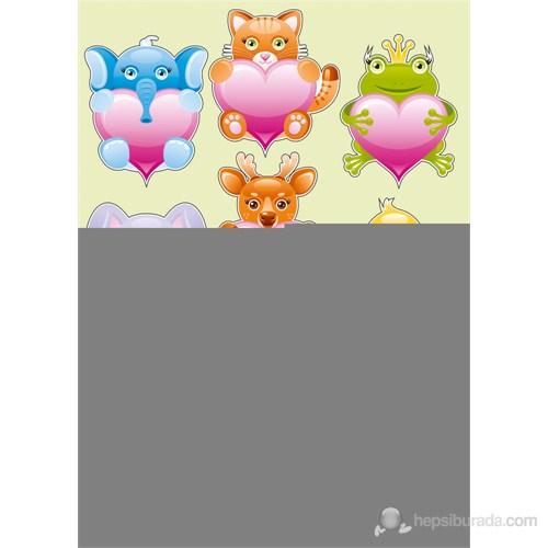 Dekorjinal Çocuk Sticker Kd55
