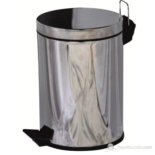 5LT Pedallı Düz Çöp Kovası