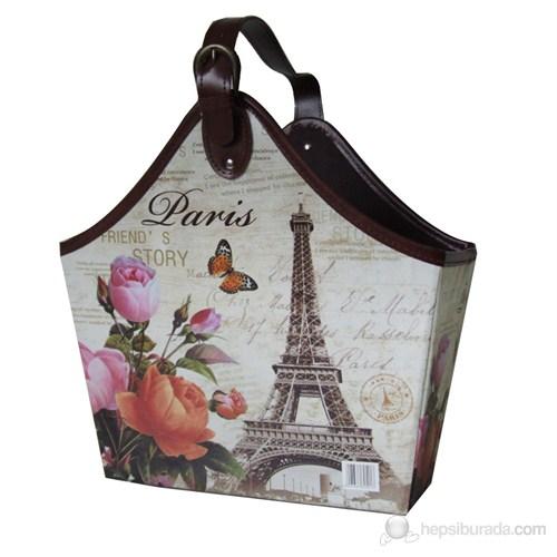 Gazetelik Tek Saplı Carte Eyfel Paris (35*19*43)