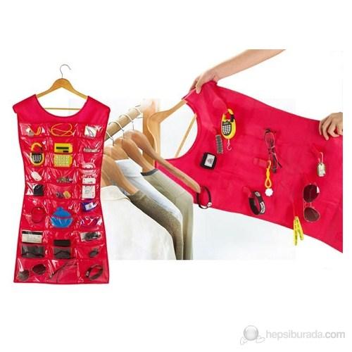 Hardymix Elbise Şeklinde Takı-Mücevher Organizeri