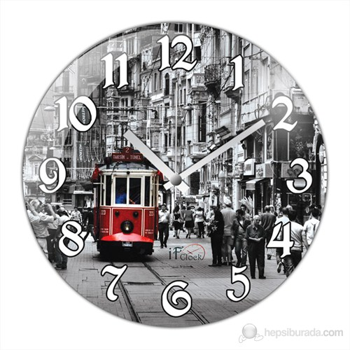 İf Clock İstiklal Caddesi Duvar Saati