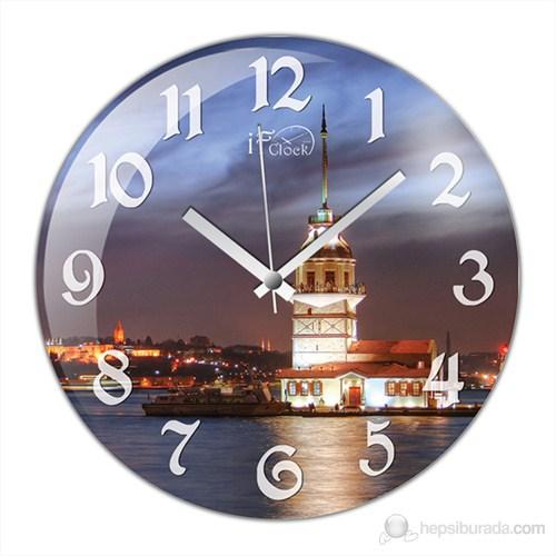İf Clock Kız Kulesi Duvar Saati