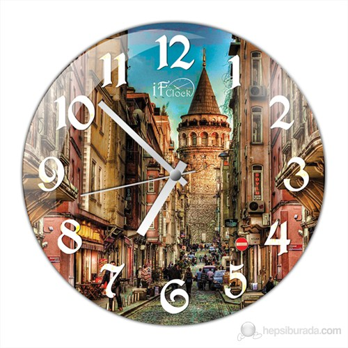 İf Clock Galata Duvar Saati