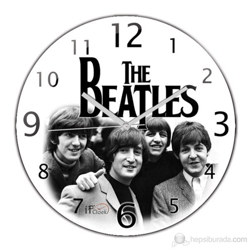 İf Clock Beatles Duvar Saati