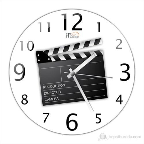 İf Clock Klaket Duvar Saati