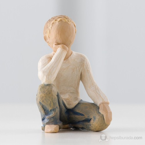 Willow Tree Inquisitive Child (Meraklı Çocuk) Biblo