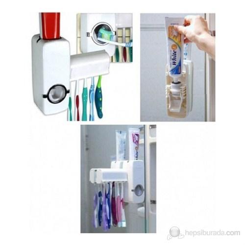 Vantuzlu Diş Macunu Sıkma Makinası